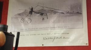 Jastram-Motor in Flugzeug